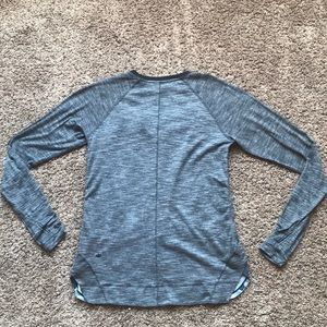 lululemon athletica Tops - Lululemon lightweight long sleeve with floral 4/6